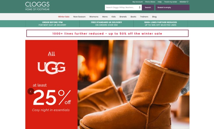Cloggs discount code
